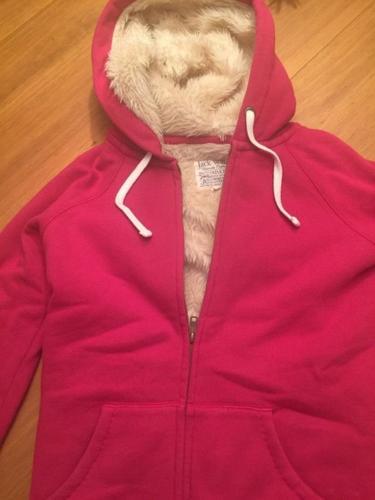 Jack Wills fur hoodie for SALE!