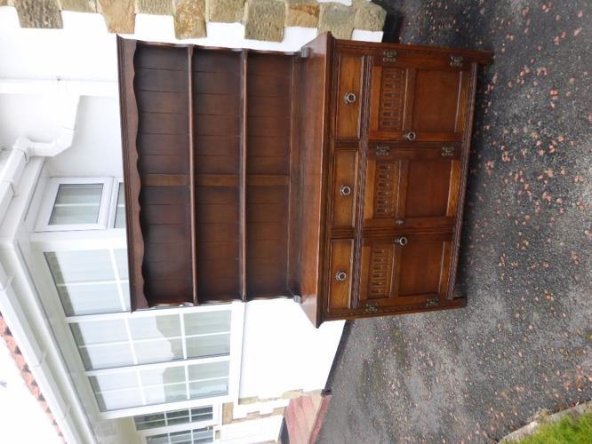 Jaycee oak kitchen dresser