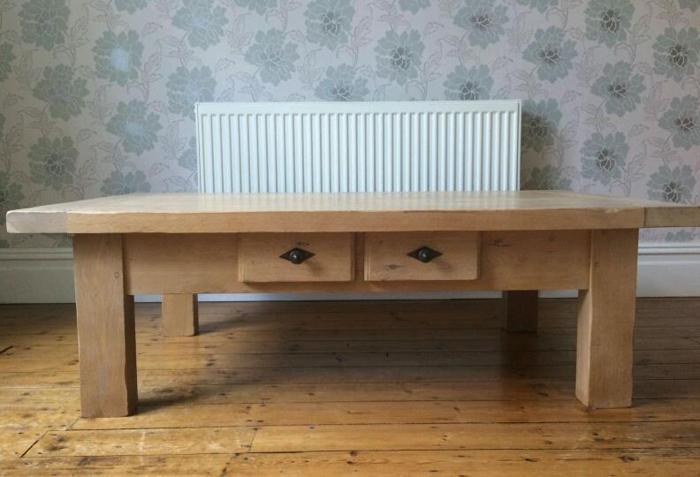 John Lewis Solid Oak Coffee Table