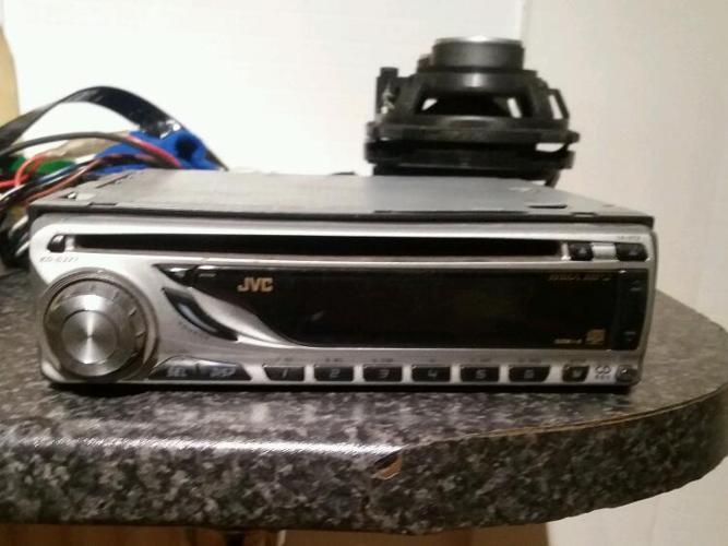 JVC car CD stereo