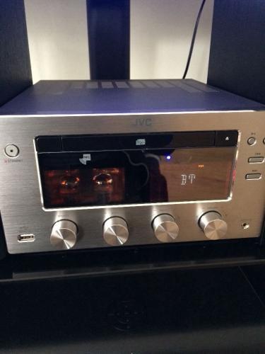 JVC UX-D150 wireless hi-fi with Cd Dab/fm radio and USB