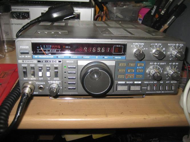 Kenwood / Trio TS - 430S HF Transceiver Fully Loaded