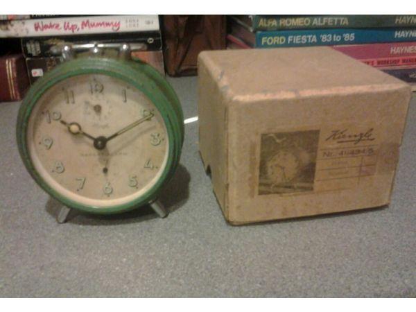 Kienzle alarm clock working.