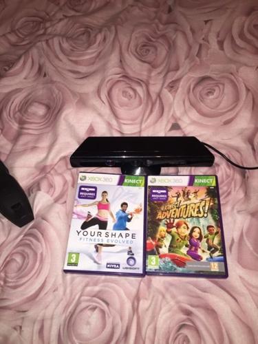 Kinect sensor and 2 games