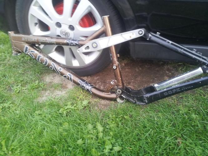 kone bike frame