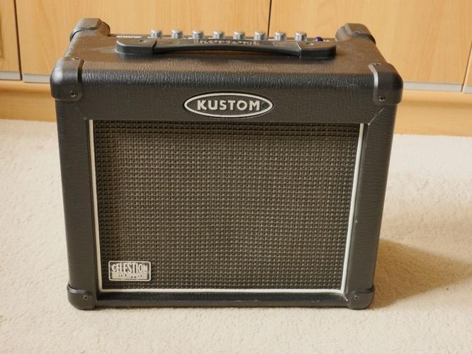 Kustom Arrow 16DFX Lead Amplifier, very good condition,
