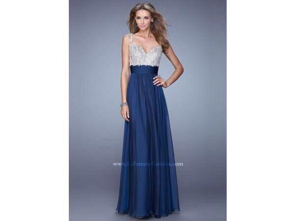 La Femme Designer Prom/Evening Dress 21505 & Shoes &