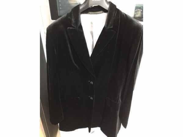 Ladies Black Velvet Jacket Marks and Spencer's