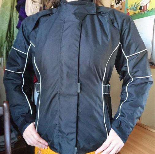 Ladies' Cordura Koord motorcycle armoured waterproof