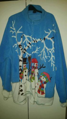 Ladies festive fleece