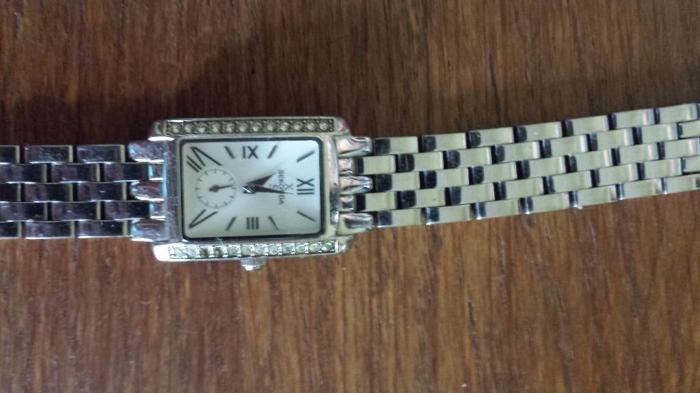 Ladies SEKONDA XS Crystal Watch 310105 square face
