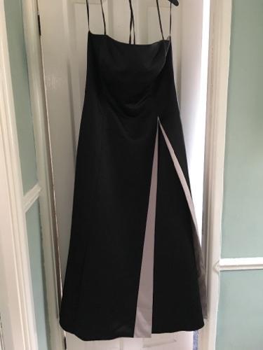 Laura Ashley black ballgown/dress size 20.