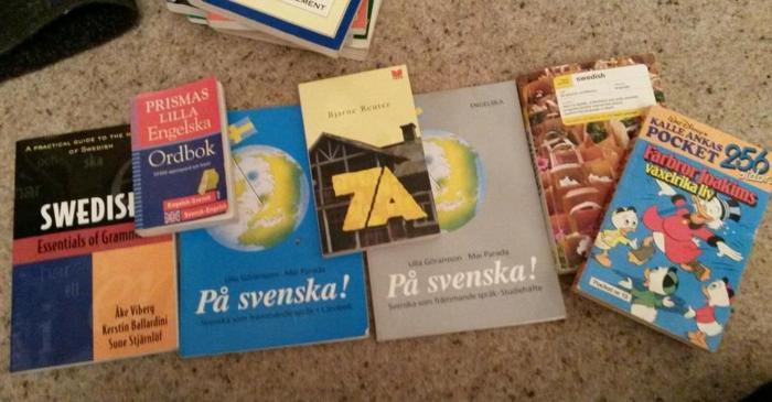 Learn Swedish educational books