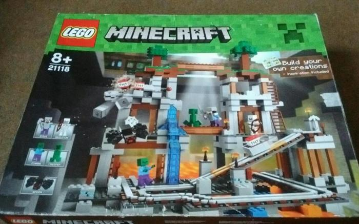 Lego Minecraft the mine boxed complete lego set / trade