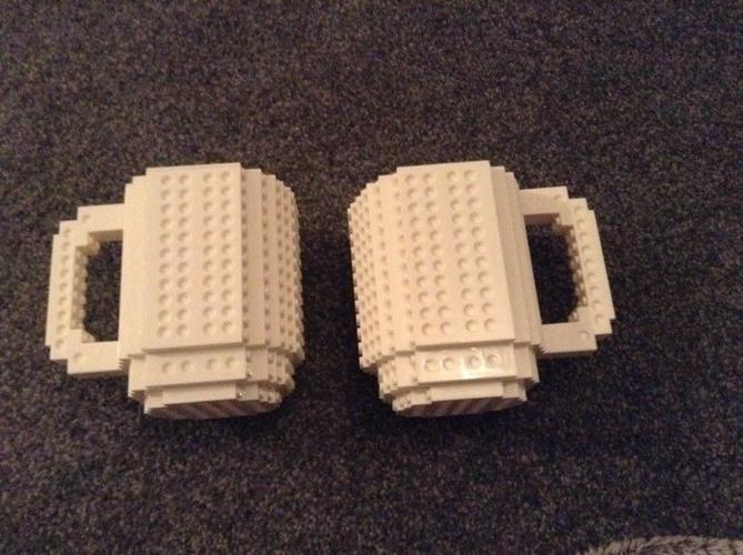 Lego Mugs x2
