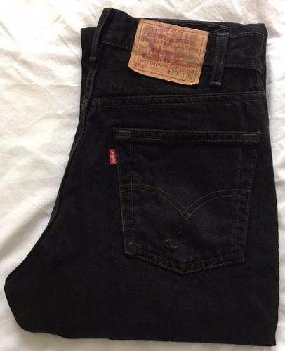 Levi 505 Men's Jeans - Black W30 L32