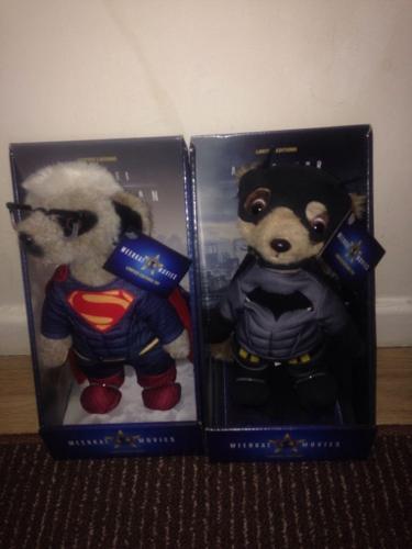 Limited Edition MeerKats - Aleksandr as Batman & Sergei
