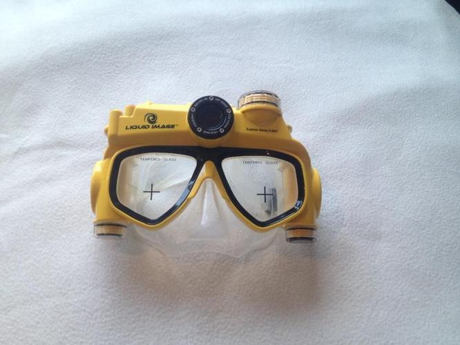 Liquid Image camera. Underwater camera. Snorkling