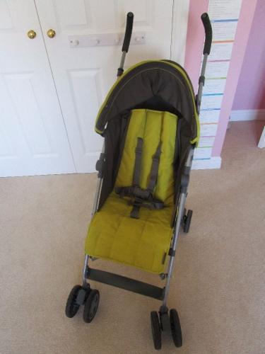 Mamas and Papas Kato Stroller Buggy Green and Grey