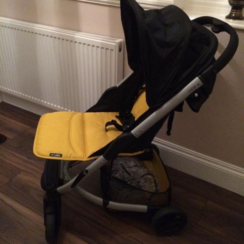 Mamas & Papas Argo Pushchair and Car Seat with rain