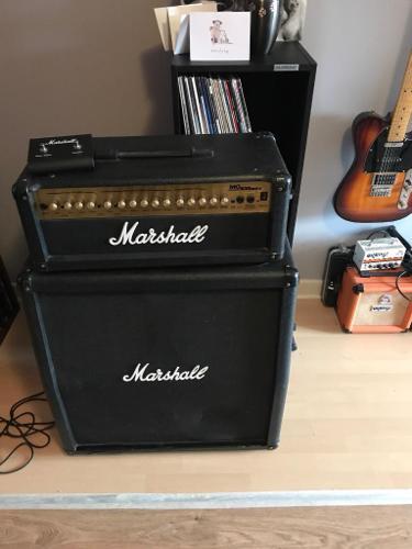 Marshall Amp - MG 100 HDFX Stack