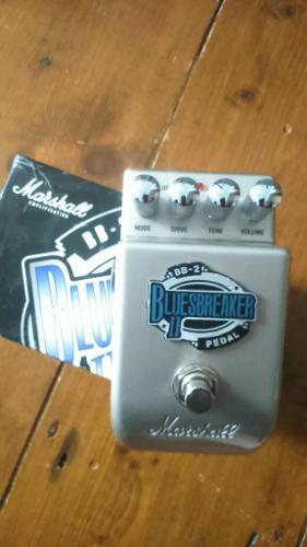 Marshall bluesbreaker overdrive / boost pedal