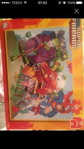 Marvel SuperHero Friends Jigsaw (kids xmas bargainsp