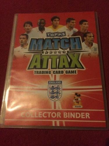 Match Attax collection
