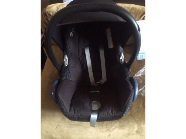 Maxi cosi first car seat