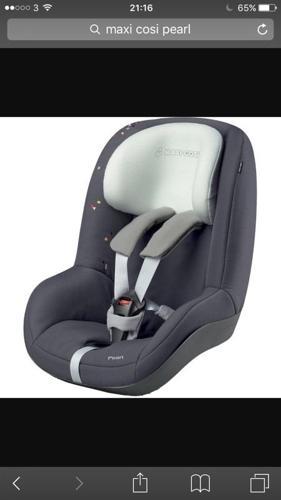 Maxi Cosi Pearl Car Seat - excellent condition
