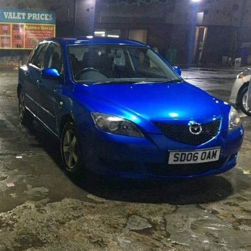 Mazda 3 2006 Blue 69k Motd