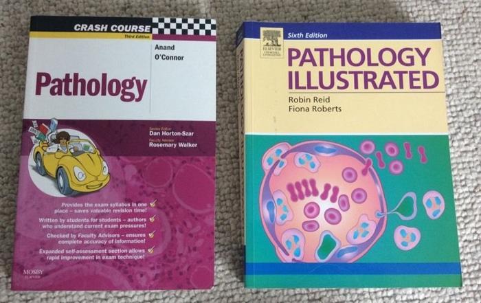 Medical student Pathology Textbook Bundle