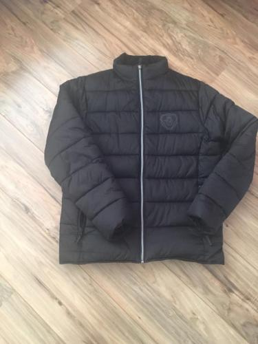 Men's large black Scania jacket
