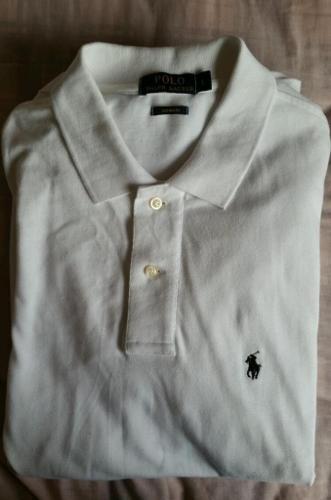 Men's Ralph Lauren white polo size large (L) (unwanted