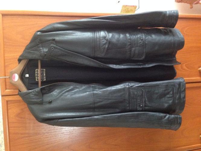 Mens Large Leather Jacket