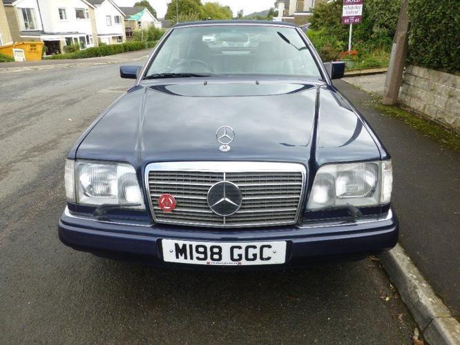 Mercedes cabriolet 124 e class