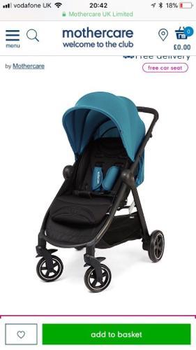Mothercare Amble Stroller