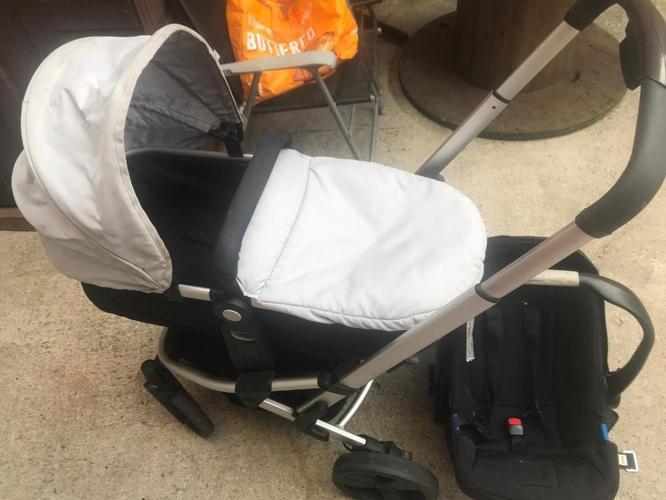 mothercare xpedior pram/pushchair car seat