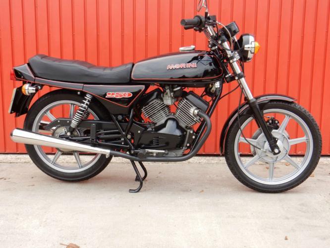 MOTO MORINI 2C 250cc V TWIN 1981 MATCHING FRAME AND