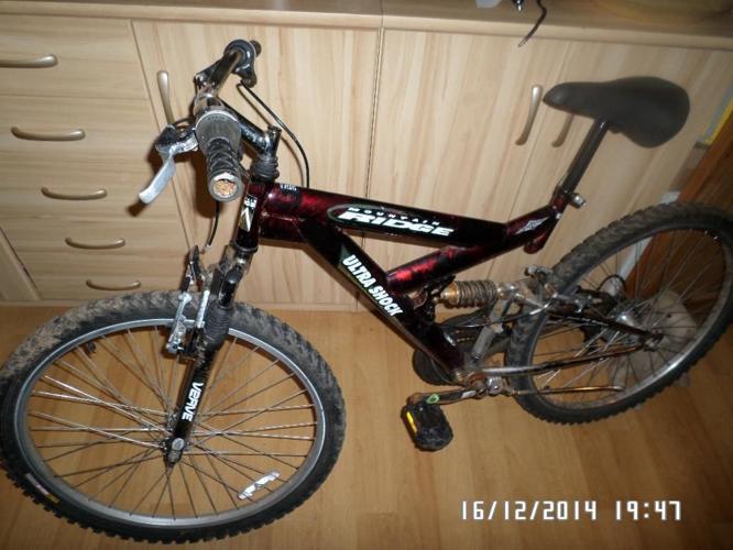 Mountain Ridge Ultra Shock unisex bike. No swaps,