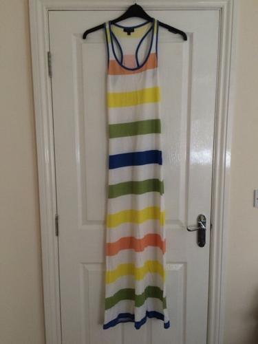 Multi Coloured Maxi Dress Size 6