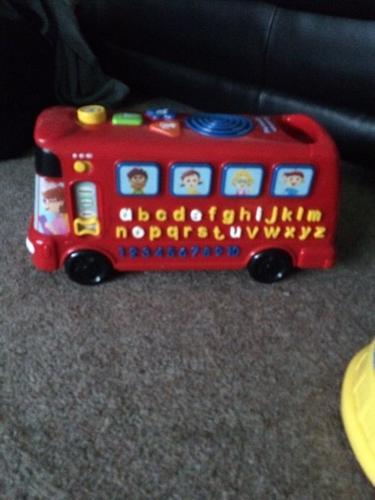 Music bus and animal train