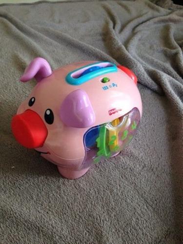 Musical pig money box