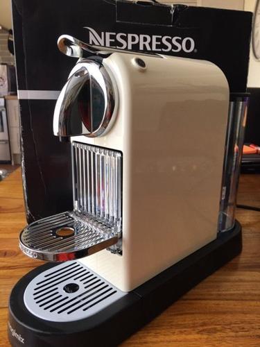 Nespresso Citiz megamix coffee machine