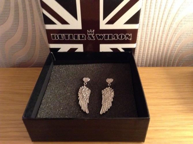 New Butler &Wilson earrings