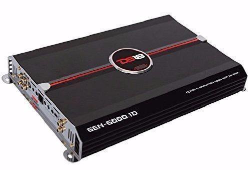 New - DS18 GEN-6000.1D 6000 Watts One-Channel/Monoblock