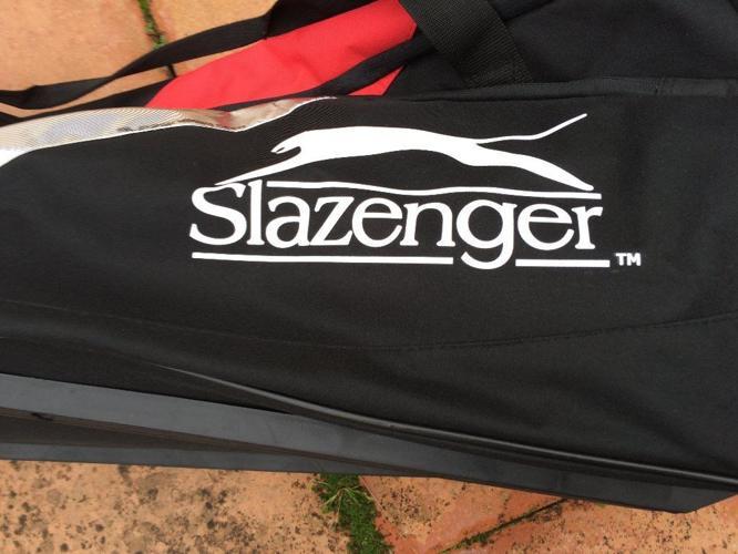 New Large Slazenger cricket bag with wheels