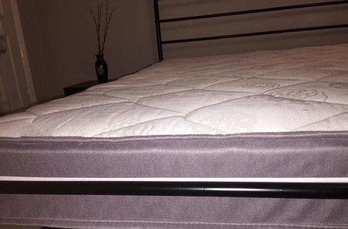 New orthopaedic double mattress