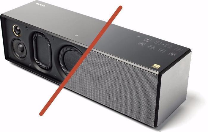 NEW - Sony SRSX88 Hi-Res Audio Multiroom Speaker with