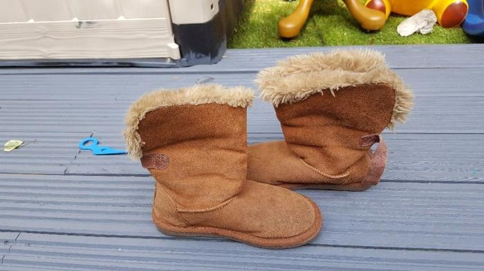 next suede winter warm boots size 1